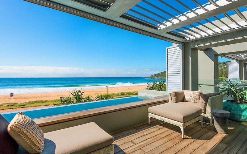 Beachfront airbnb property under management